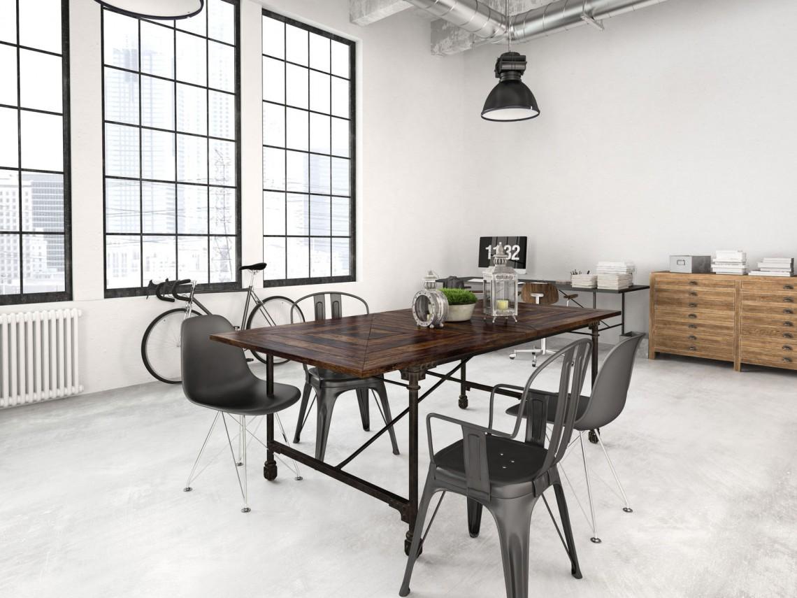 Des meubles design pour une déco industrielle