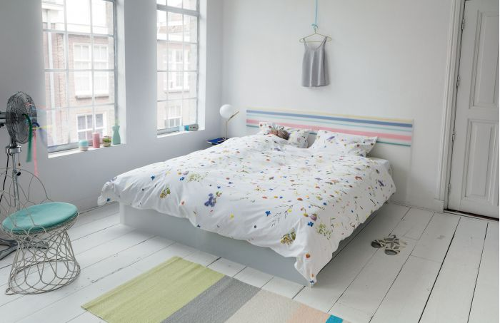 Du linge de lit très fleuri : Vive le Printemps !