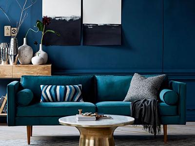 Décoration bleu pour votre intérieur