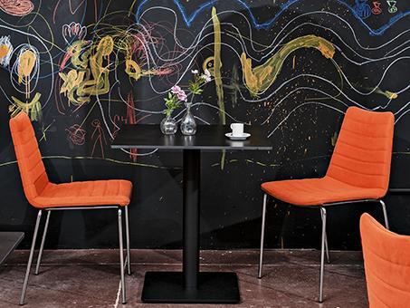 Une décoration d'intérieur design et vitaminé