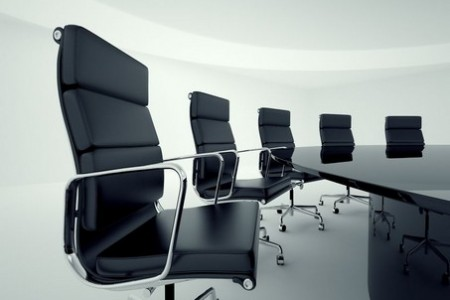 19745689 - view on office chairs in a board room