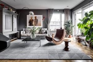peinture-grise-salon-sol-parquet-meubles-bois-massif-cosy