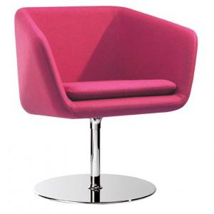 Fauteuil rose, fauteuil pivotant, fauteuil vintage, stranger things, coup de coeur design, stylight