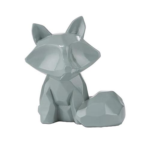Décoration renard bleu pastel - Foxy