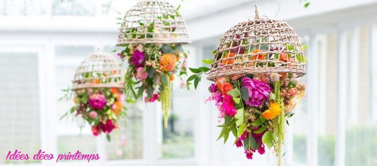 Idées deco Printemps - Bouquet de fleurs